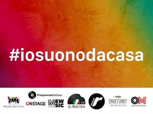 #IOSUONODACASA: LA MUSICA AI TEMPI DEL CORONA